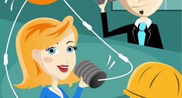 Keyvisual für b2b-Mitarbeiterkommunikation von ofischer communication