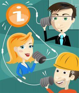 Durch Mitarbeiterkommunikation und Mitarbeiterzeitung die Change Kommunikation steuern.