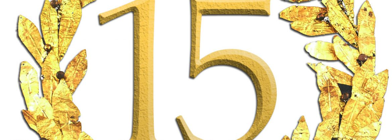 Lorbeerkranz zum Jubiläum: ofischer communication feiert 15-jähriges Bestehen.