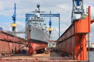 Schiffbau bei Outokumpu