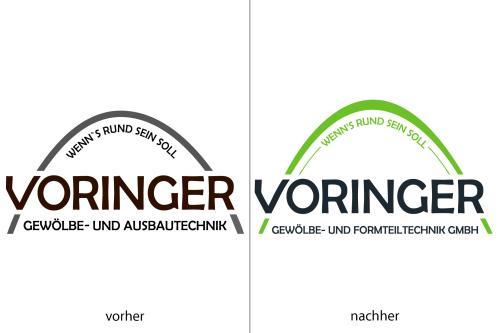Vorher, nachher: Das neue Logo als Basis für die neue Corporate Identity unterstreicht die Neuausrichtung des Unternehmens. Trotzdem ist die optische Verbindung zum altbewährten Ursprung erhalten geblieben.