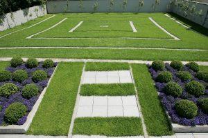 Garten des Galerie Design Hotels in Bonn